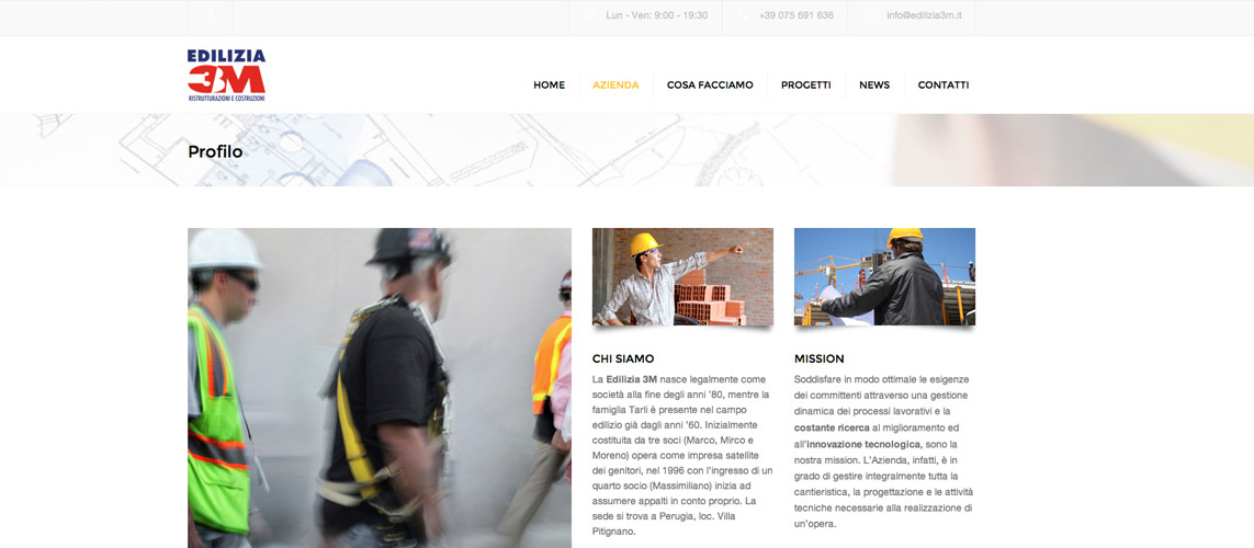 Edilizia 3m sito web for Sito web di progettazione edilizia